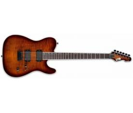 ESP LTD TE-401FM Dark Brown Sunburst Elektro Gitar