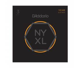 D'addario NYXL1046-3P Nickel Wound Elektro Gitar Tel Seti - 3 Set Regular Light