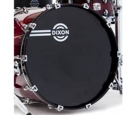 "22"" Bass Drum Head New Logo Black - PHZ122BK"
