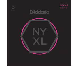 D'addario NYXL1152 Nickel Wound Elektro Gitar Tel Seti - 3 Set Super Light