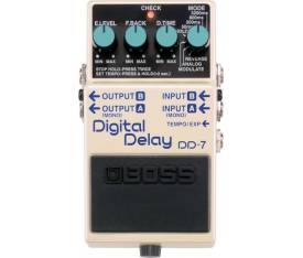 Boss DD-7 Digital Delay Elektro Gitar Analog Pedal