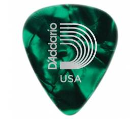D'Addario Celluloid Green Pearl Light Pena