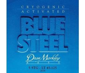 Dean Markley Blue Steel Light 2678 (45-125) - Bas Gitar Tel Seti