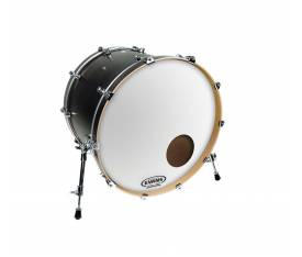 "Evans BD22RGCW 22"" EQ3 Resonant Coated Bas Davul Derisi"