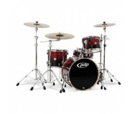 DW Pacific Drums Cherry To Black Fade Davul Seti