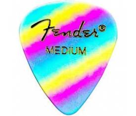 Fender 351 Medium Rainbow 12 Count