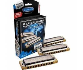 Hohner Blues Harp Mızıka Seti (Do-Sol-La Majör)
