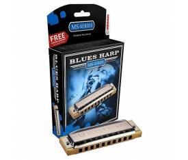 Hohner M533116X Blues Harp MS Bb Mızıka (Si Bemol Major)