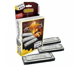 Hohner M572XP Hot Metal Mızıka Seti (Do, Sol, La)