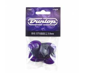 Jim Dunlop 475P3.0 Big Stubby 6lı Paket Pena (3 mm)