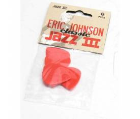 Jim Dunlop Eric Johnson Classic Jazz III 6lı Pena Seti (1.38mm)
