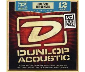 Jim Dunlop Light 80/20 Bronze Akustik Gitar Teli (12-54)