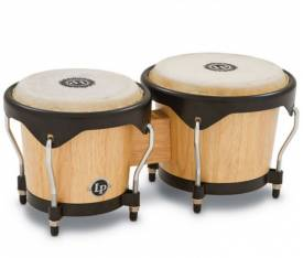 LATIN PERCUSSION LP601NY-AW - LP® City 6'' & 7'' Natural Ağaç Bongo