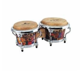 "LATIN PERCUSSION LPM200-AW 4.5"" & 3.5"" Music Collection Santana Serisi Mini Bongo"