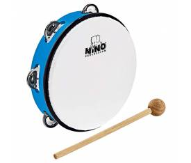 Nino NINO51SB Abs 8 Inch Tambourine Jingle Drum