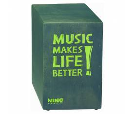 Nino NINO952GY Better Life Series Cajon (Grey)