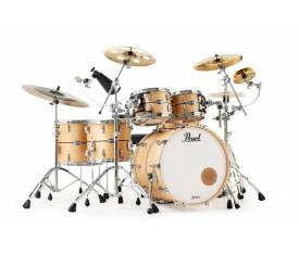 PEARL MCT924XEP/C845 - Masters Maple Complete Limited Edition Maple Echelon 4 Parça (22B/10T/12T/16F) Akustik Davul Seti