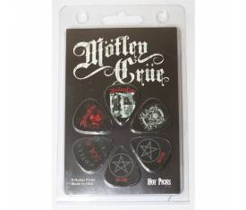 Perris Motley Crue Officially Licensed 6 lı Paket Pena