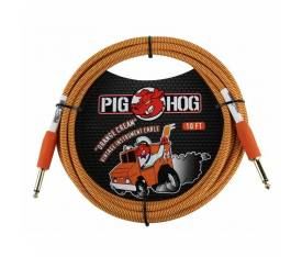 Pig Hog 3 Metre Cable Orange Creme Ensturman Kablosu