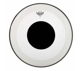 "REMO P3-1318-10- Bass POWERSTROKE 3 Şeffaf 18"" Deri No Stripe Top DOT"