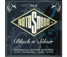 Rotosound CL4 Black Normal Tension Silver Klasik Gitar Teli