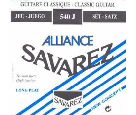 Savarez 540J Alliance Hard Tension Classic Blue Klasik Gitar Teli