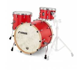 Sonor SQ1 322  Akustik Davul Seti (Hot Rod Red)