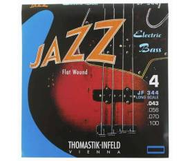 Thomastik Infeld JF344 Jazz Gitar Flatwound Takım Tel