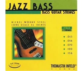 Thomastik Infeld JF345 Jazz Gitar Flatwound Takım Tel