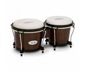Toca Synergy 6+6-3/4'' Bongos - Transparent Black