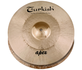 "Turkish Cymbals Apex 13"" Hihat"