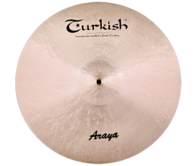 "Turkish Cymbals Araya 20"" Ride"