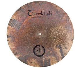"Turkish Cymbals Atacama 20"" Precision Flat Ride"