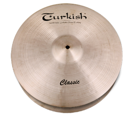 "Turkish Cymbals Classic 13"" Hihat Rock"