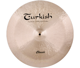 "Turkish Cymbals Classic 22"" China"