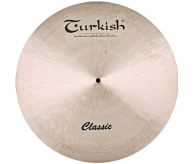 "Turkish Cymbals Classic 22"" Ride Custom Dry"