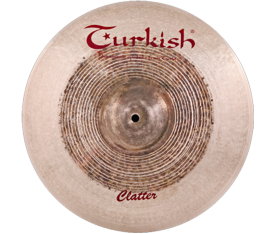 "Turkish Cymbals Clatter 17"" Crash"