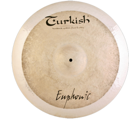 "Turkish Cymbals Euphonic 21"" Ride"