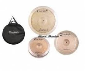 "Turkish Cymbals Fusion Set (14""Hihat,16""Crash,20""Ride )"