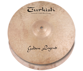 "Turkish Cymbals Golden Legend 13"" Hihat"