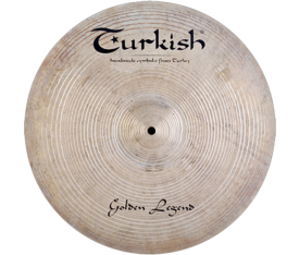 "Turkish Cymbals Golden Legend 22"" Ride"