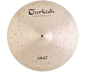 "Turkish Cymbals Jazz 21"" Ride"