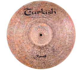 "Turkish Cymbals Kurak 19"" Ride Flat"