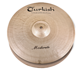"Turkish Cymbals Moderate 14"" Hihat"