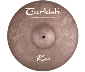 "Turkish Cymbals Rawdark 20"" Ride"