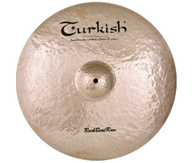 "Turkish Cymbals Rock B.Raw 17"" Crash"
