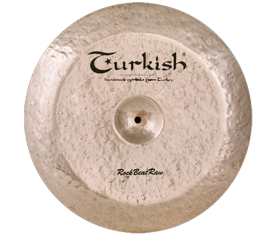 "Turkish Cymbals Rock B. Raw 21"" Swish"