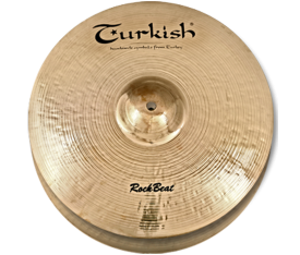 "Turkish Cymbals Rock Beat 13"" Hihat Flat Hole"