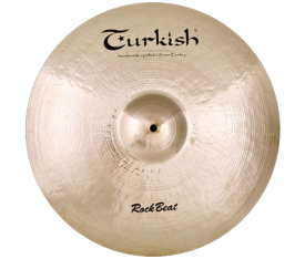 "Turkish Cymbals Rock Beat 21"" Crash Ride"