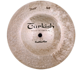 "Turkish Cymbals Rockbeat Raw 9"" Big Bell"